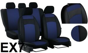 FORD C-MAX Mk1 2003-2009 ECO LEATHER SEAT COVERS MADE TO MEASURE FOR CAR