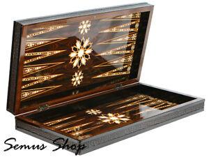 Luxus-Orient-Backgammon-Tavla-XXL-Gesellschaftspiele-Familienspiel-50-x-50-cm