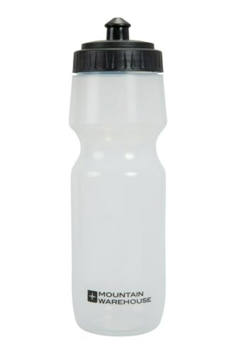 700ml//0.7l Mountain Warehouse Bike and Sport Bottle in White with Leakproof