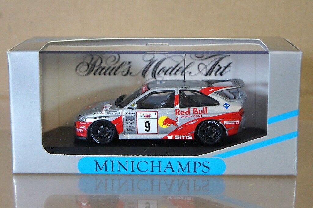 Minichamps  430 948209 Ford Escort rougebull Akropolis 1994 Vatanen Pons Voiture 9  choisissez votre préférée