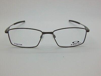 NEW OAKLEY LIMIT SWITCH OX5121-0355 Satin Brushed Chrome 55mm Rx Eyeglasses  888392213877 | eBay