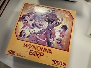 IDW WYNONNA EARP PUZZLE : 1000 PIECES : BRAND NEW CONDITION