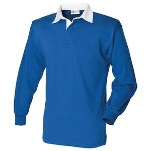 Front-Row-Long-Sleeve-Plain-Rugby-Shirt