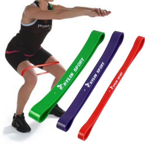 Natural Latex Loop Resistance Band GYM Fitness Yoga Power Exercise Workout