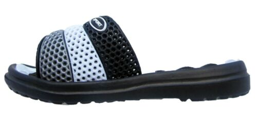 Boys Slider Kids Perforated Flip Flops Sandal Infants Shoes Sports Mules Sizes