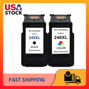 2pk-PG-245XL-Black-amp-CL-246XL-Color-Ink-for-Canon-PIXMA-iP2820-MG2420-MG2520