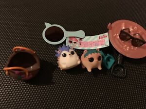 TOP Surprise Pets Doll Rare Color Change Eye Spy Series 4 Figure Cheeky Hedgehog