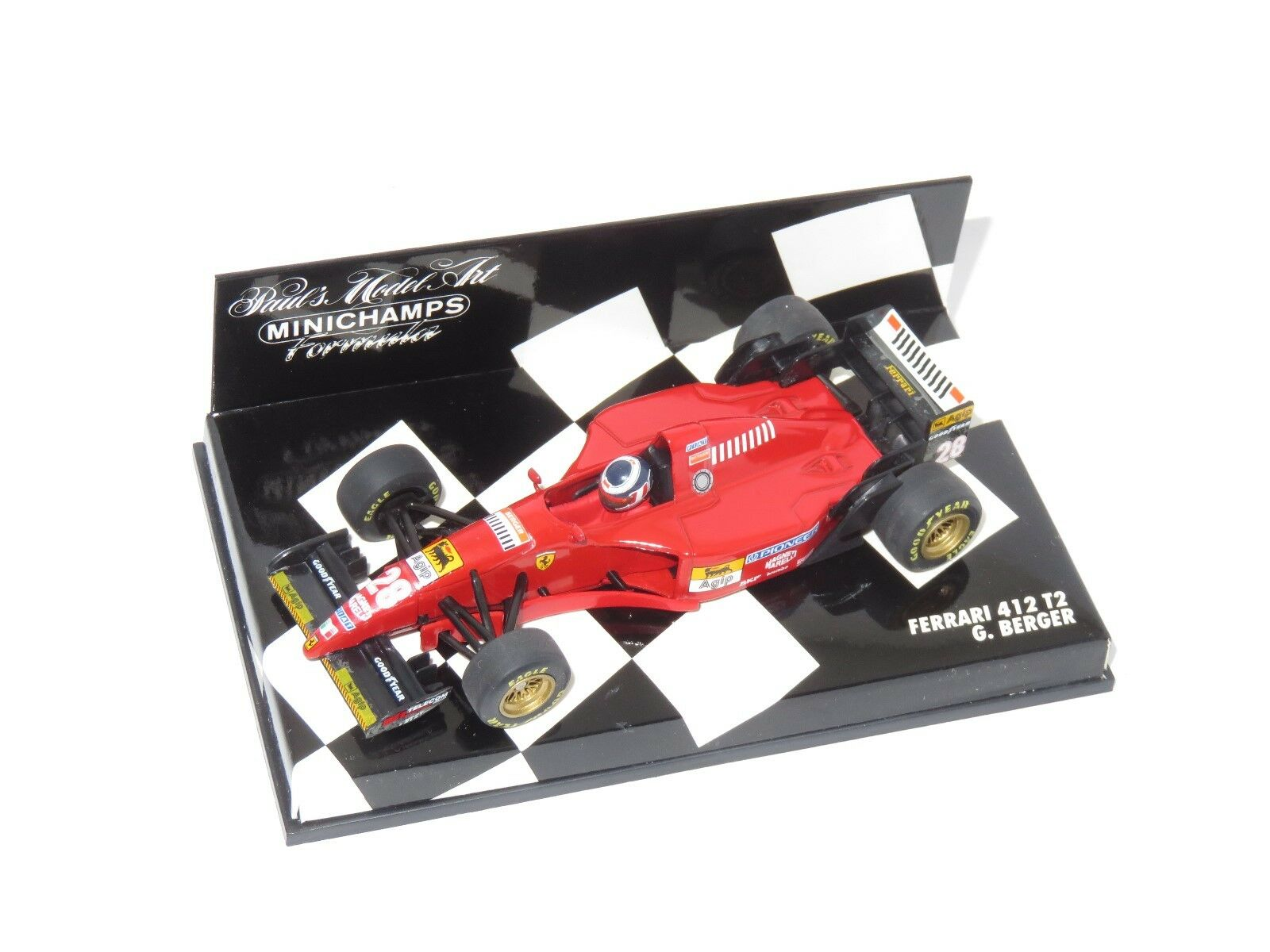 1 43 Ferrari 412 T2  1995 Season     Gerhard Berger a2a4b3