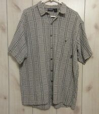 Patagonia Organic Cotton Short Sleeve Button Up Shirt Men's Large