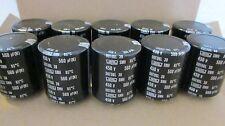 NIPPON SMH 560uF 450V Audio Aluminum Electrolytic Cap **NEW** 10/PKG