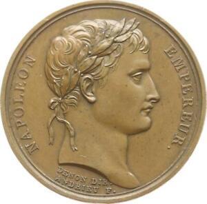 Ksr-Frankreich-Napoleon-I-Medaille-1804-v-Andrieu-Kronung-Zeitz-39-R