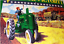thumbnail 1 - VINTAGE-JOHN-DEERE-V-IS-4-VICTORY-FARM-TRACTOR-10-034-PORCELAIN-METAL-GAS-OIL-SIGN