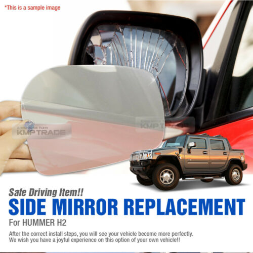 Car Side Mirror Replacement LH 1P for HUMMER 2003 04 05 06 07 08 09 H2