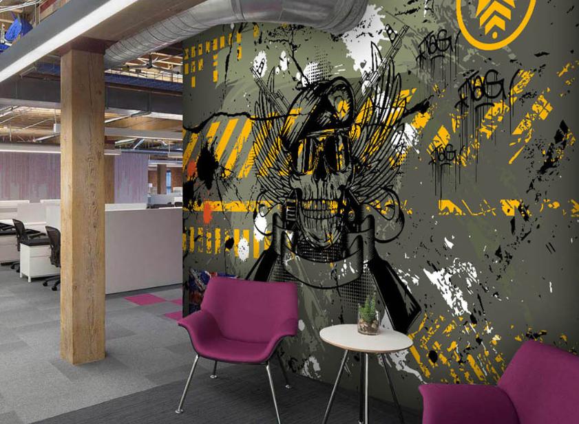 3D Piraten Gekritzel 87 Tapete Tapeten Mauer Foto Familie Tapete Wandgemälde DE