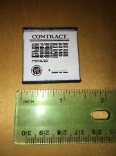 WWE Wrestling Business Contract Weapon Accessory for Figures Toy