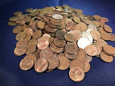 Bulk Mixed World Coin Weight 450 Grams.From Hoard Not Checked For Variety.