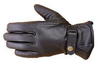 Premium Lambskin Unisex Winter Driving Dress Fashion Gloves Black Fg2