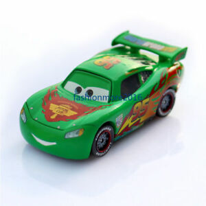 Cars 2 Green Lightning Mcqueen Diecast Toy Car 1 55 Loose Vehicle Kids Toys New Ebay