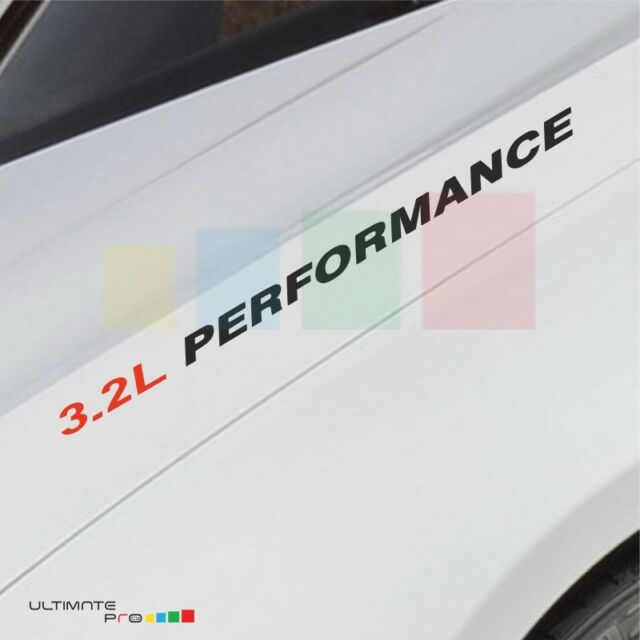 3.2L PERFORMANCE Decal Sticker Hood For Acura NSX TL CL