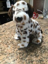 Ty Beanie Buddy BO the Brown Spotted Dalmatian Dog