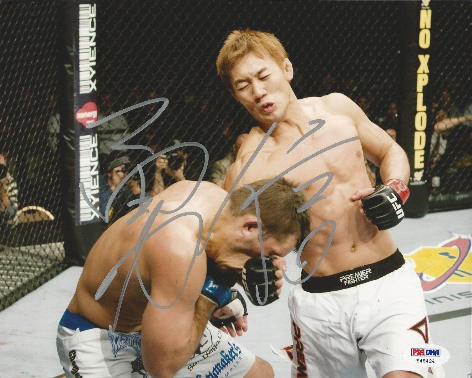 Yushin Okami UFC Fighter signed 8x10 photo PSA/DNA # Y48424