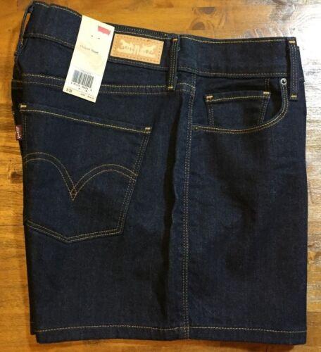 Pantaloncini lavaggio scuro Levi's Rise classici Nwt Donna Mid Denim 6 28 prwpBUqnR