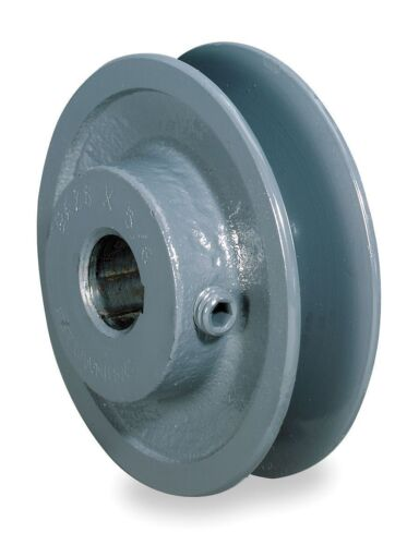 """2.2/"""" X 7//8/"""" Single Groove Fixed Bore /""""A/"""" Pulley # AK22X7//8"""