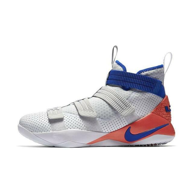 b6815f67b7d42 Nike Lebron Soldier XI SFG Ultramarine 11 Men White Blue 897646-101 ...
