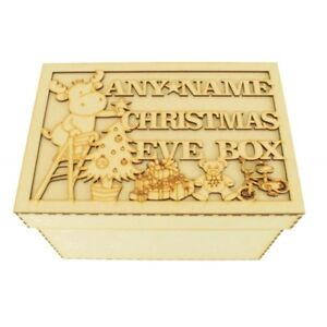 Personalised-Wooden-MDF-Christmas-Eve-Box-Night-Before-Christmas-Gift-CP38