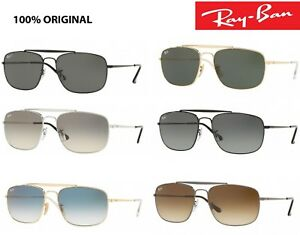 cfa42c19a1 Image is loading Sunglasses-Ray-Ban-rb-3560-The-Colonel-classic-