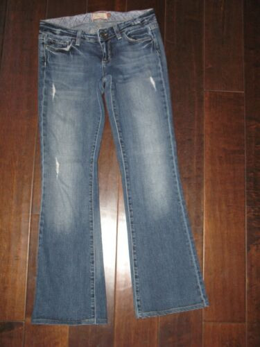 Canyon Wash W 29 Laurel Sz Stivale Jeans L Premium Distressed Stretch 27 Basso Paige qFPwCExq