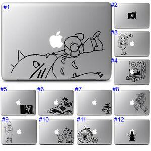 Apple Laptop Macbook Vinyl Sticker Cool Cute Anime Japan