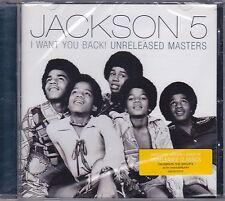 CD ♫ «JACKSON 5 (MICHAEL JACKSON) • I WANT YOU BACK • UNRELEASED MASTERS» nuovo