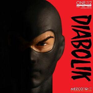 Mezco-One-12-Collective-Diabolik-Action-Figure-Fumetti-Neri-Comics-New-In-Stock