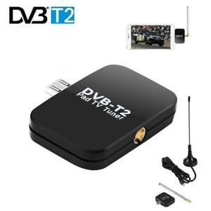 DVB-T2 Receptor Micro-USB Tuner Mobile TV Receiver Stick for Android Tablet Pad 48.25 ~ 863.25 MHz Frequency Receiver