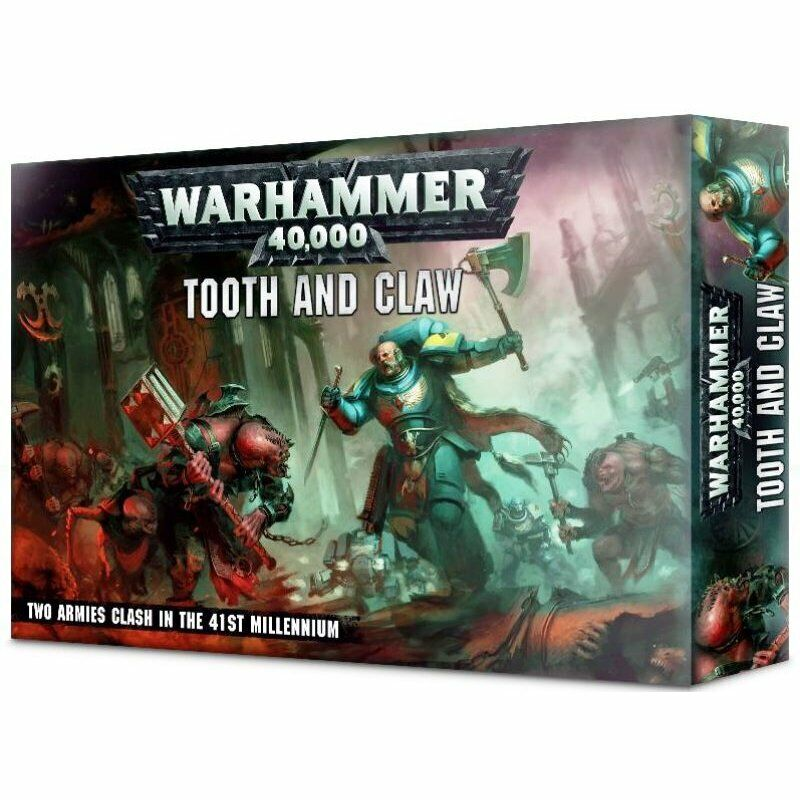 GW Warhammer 40K - Dent e claw (scatola Set) spazio Wolves Genetealers - nuovo
