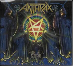 DOUBLE-CD-17T-DIGIPACK-INCLUS-BONUS-EP-LIVE-ANTHRAX-Anthrax-FOR-ALL-KINGS-2016