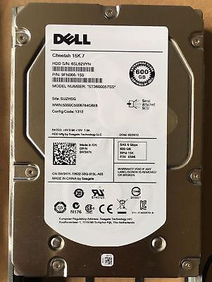 "Dell 0W347K W347K W348K 600GB 6G 15K 3.5/"" SAS Hard Drive ST3600057SS"