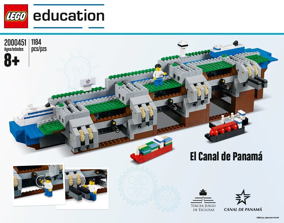 LEGO Education Panama Canal Set - 2000451 (LIMITED EDITION)