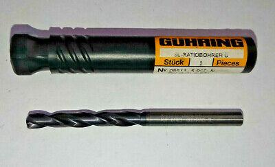 Guhring 5.55mm Carbide Drill