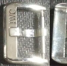 Original Vintage IWC Buckle Fibbia 18mm inner Stainless Steel VeryGood Cond L@@K
