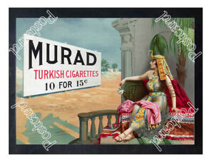 Historic-Murad-Cigarettes-Advertising-Postcard-1