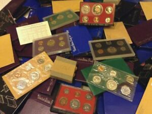 1953-2020-Proof-Type-Set-ALL-14-Coins-P-S-W-Mint-Box-COA-BIG-ESTATE-SILVER-HOARD