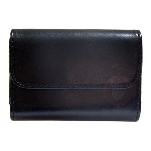 Quality Black Leather Case With Belt Loop for  Cameras & Pocket Camcorder