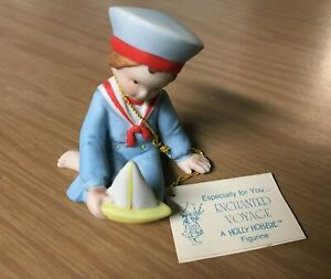 1982-Holly-Hobbie-034-Enchanted-Voyage-034-Figurine-Miniatures-Collection-Series-X