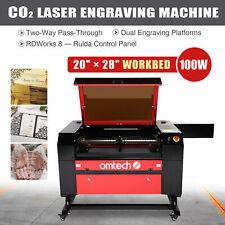 28x20 100w Co2 Laser Engraver Cutter Cutting Engraving Carving Machine Ruida