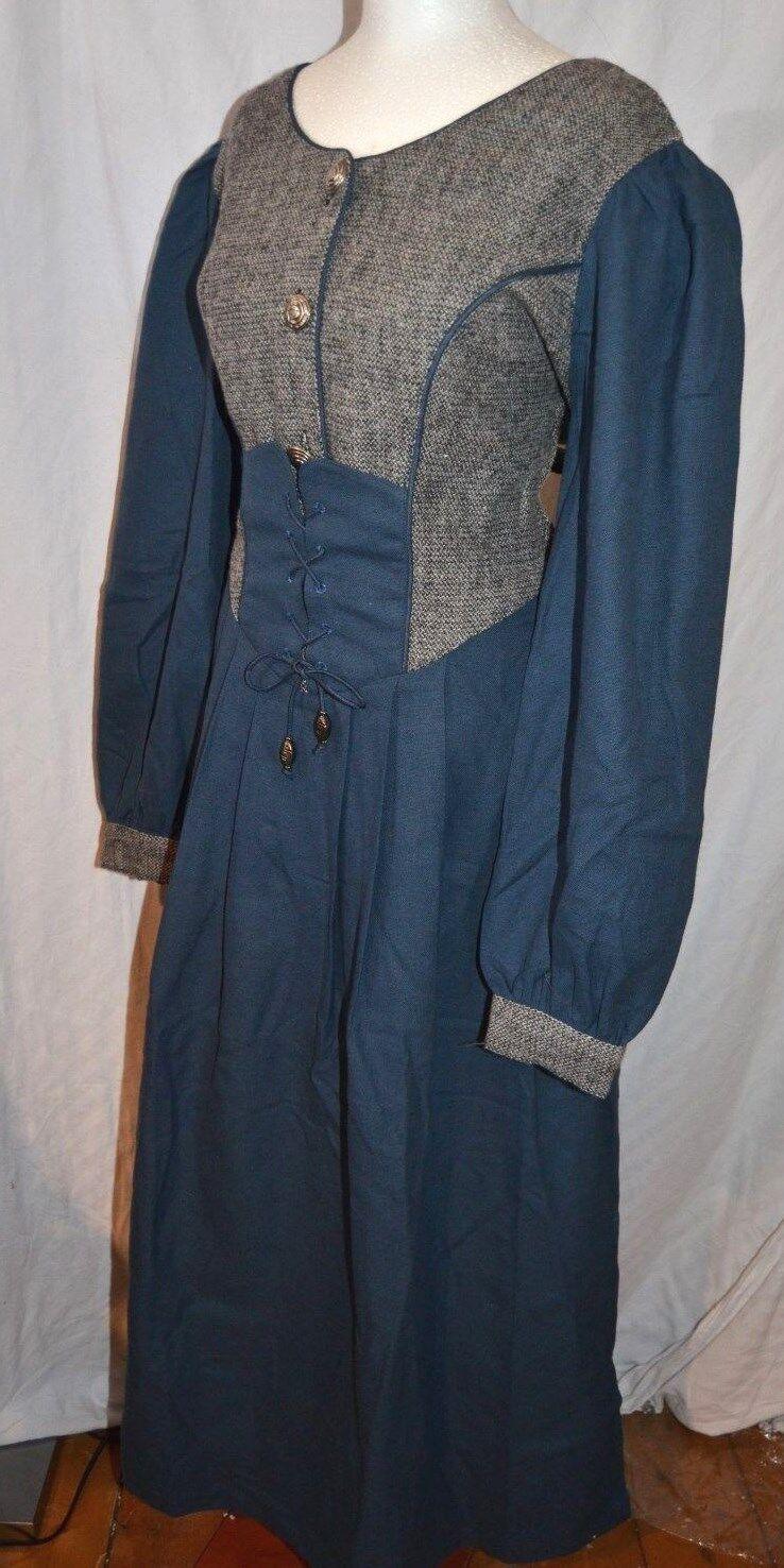 JOYLINE Country Classic Kleid Dirndl Mittelalter Gr. 42 mit Leinen 159,- Schnüre