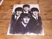 THE BEATLES - VINTAGE FRENCH PROMO BIO/POSTER FROM THE 80'S!!!!!!!!!