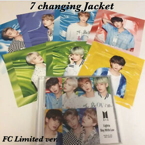 BTS-Lights-Boy-with-Luv-FC-7-Changing-Jacket-Japan-FC-limited-ver-CD-Official