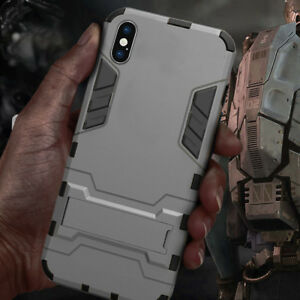 for-iPhone-X-XS-XS-MAX-XR-Armor-Rugged-Hybrid-Shockproof-Kick-Stand-Case-Cover